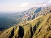 Vue vers le nord de la chaîne - Merlo