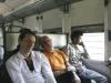 Chaleur et langueur dans le Taj expresse