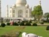 Le Taj Mahal et la mascotte