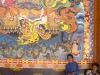 Peinture dans un temple Tibétain