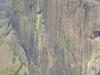 Vincent devant la falaise du Tsaranoro