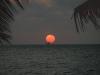 Boutre au soleil couchant