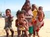 Gamins sur la plage de Soalara