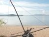 Pirogue sur le lac Itasy