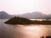 L\'îlot de la reine sur le lac Itasy