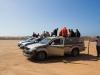 On se prépare à monter au décollage (Sidi Ifni)