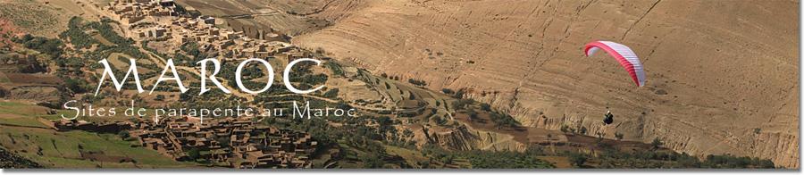 Parapente au Maroc