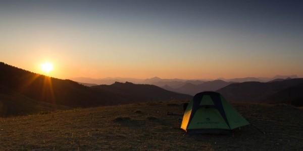 Bivouac au col de Clapouse (Tente Ferrino Lightent 1)